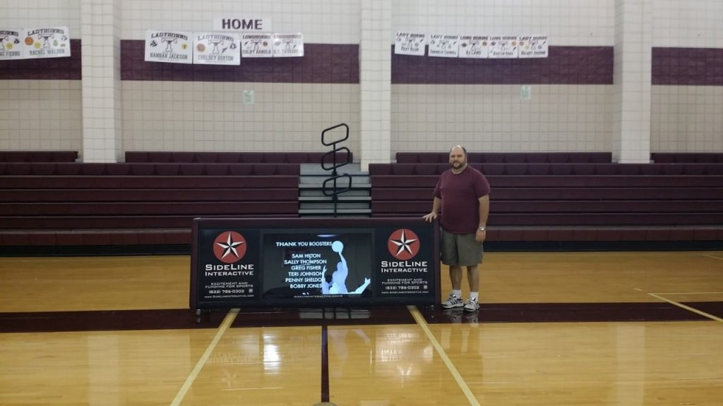 Tarkington High 8ft interactive scoring table